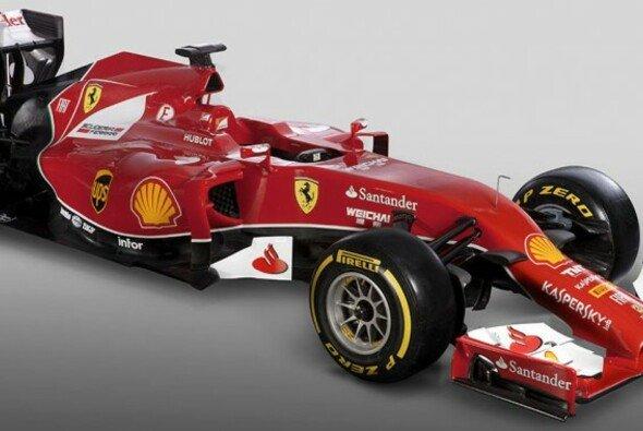 Nicht schön, aber hoffentlich schnell: Der Ferrari F14 T