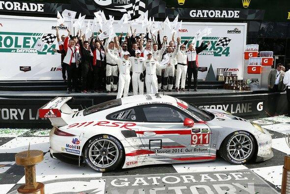 Triumph für Porsche in Daytona