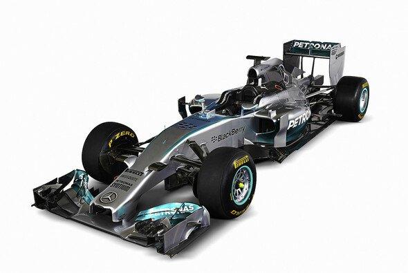 Mercedes stellte in Jerez den neuen Renner vor