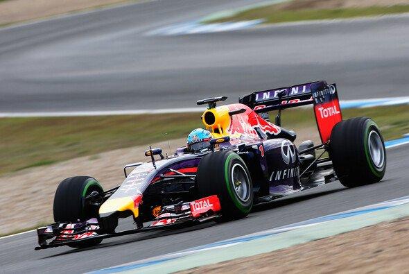 Red Bull konnte den neuen RB10 in Jerez kaum auf der Strecke testen