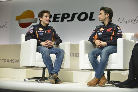 Marc Marquez und Dani Pedrosa beglücken ihren Hauptsponsor