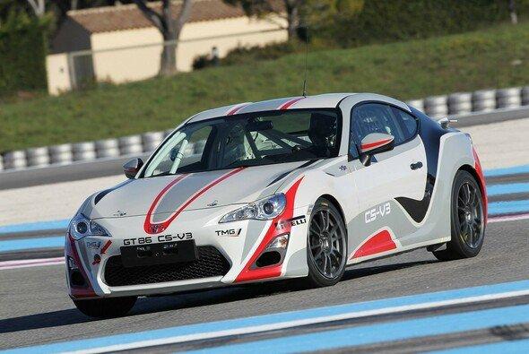 Toyota hat den überarbeiteten GT86 in Le Castellet gestestet