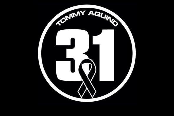 Die Homepage von Tommy Aquino ziert nur noch dieses Emblem