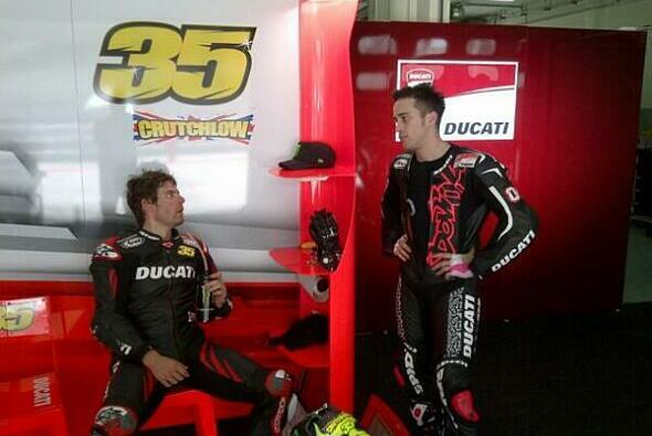 Bei Ducati besteht viel Rede-Bedarf