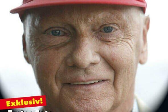 Auf dem Cover Niki Lauda als Nachher-Foto von Michael Schumacher
