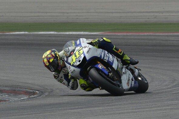 Valentino Rossi ist mit seiner Arbeit zufrieden