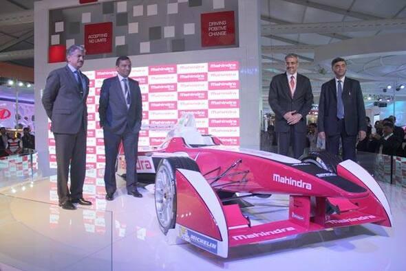 Bühne frei für den Mahindra-Racer
