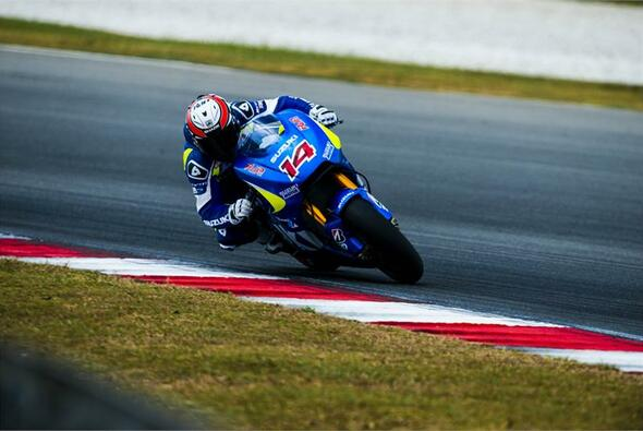 Randy de Puniet ist offizieller Testfahrer bei Suzuki