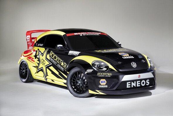 Mit dem RallyCross-Beetle stellt Volkswagen in den USA das leistungsstärkste Modell der Baureihe vor