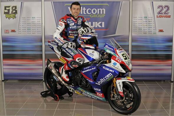 Eugene Laverty will für Suzuki Rennen gewinnen
