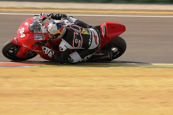 Jonas Folger fühlt sich auf der Moto2-Maschine pudelwohl