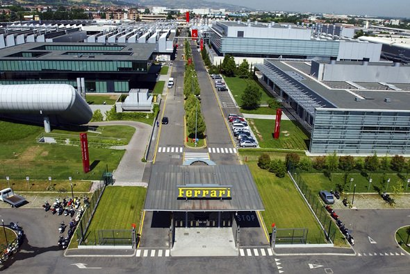 Ferrari sperrt die Formel-1-Fabrik in Maranello sofort zu - Foto: Ferrari