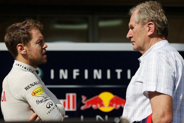 Dr. Helmut Marko nimmt Druck von Vettels Schultern