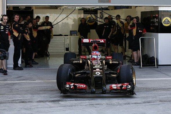 Grosjean spulte acht Runden ab