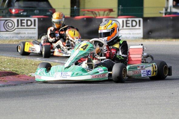 Doureid Ghattas geht für das ADAC Kart Junior Team im ADAC Kart Masters an den Start