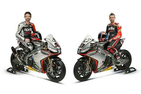 Aprilia geht mit neuem Fahrer und neuem Design in die neue Superbike-Saison