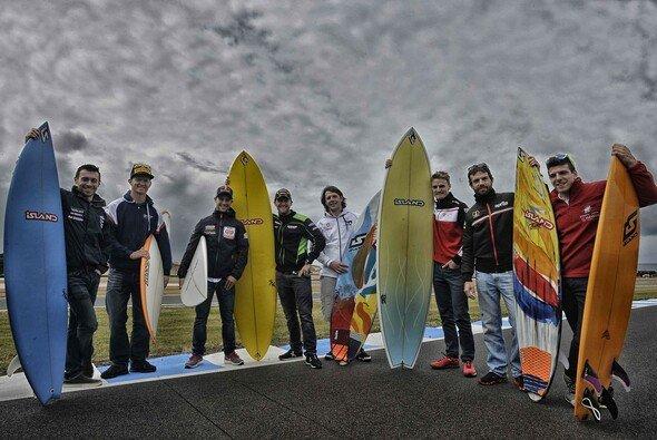 Wir tauschen gemütliches Surfen gegen knallharte Rennen