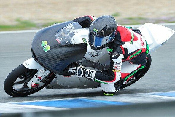 Nach guter bayrischer Vorbereitung in Spanien, geht es für Luca Grünwald am Dienstag in Jerez weiter
