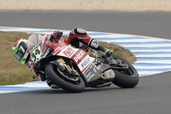 Davide Giugliano sicherte sich einen Platz unter den Top-3