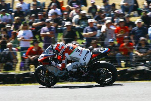Claudio Corti konnte zumindest beide Rennen beenden