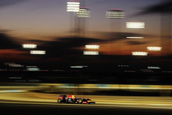 Und so sieht es dann aus, wenn die F1 zum Nachtrennen in Bahrain gastiert