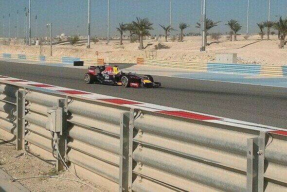 Daniel Ricciardo durfte am Nachmittag ins Lenkrad greifen