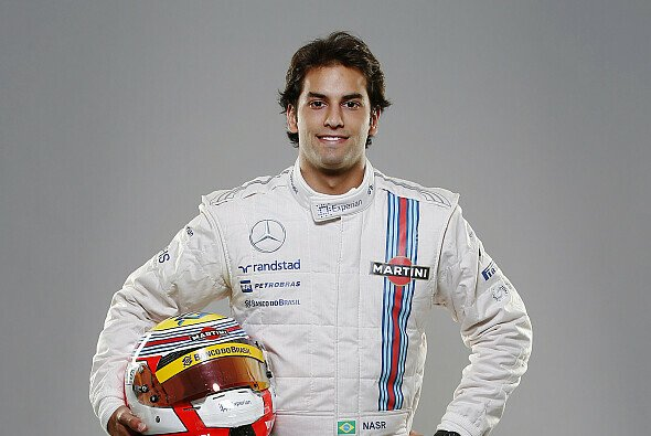 Felipe Nasr im Williams-Outfit