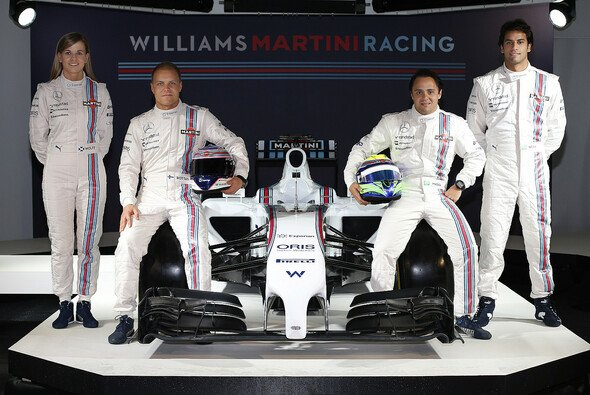 Williams pr�sentiert sich in neuem Look - Foto: Williams