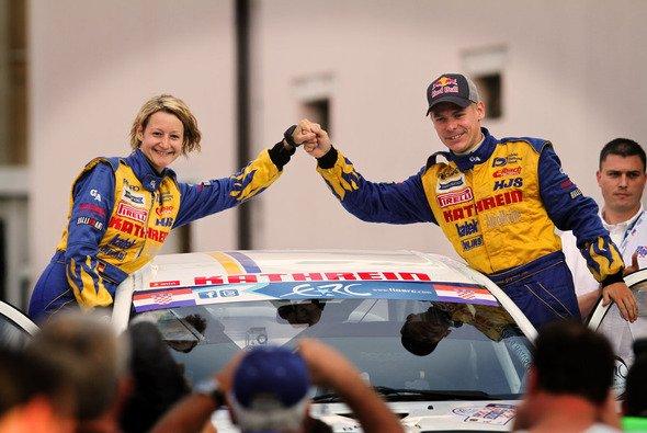 Hermann Gassner junior und seine Beifahrerin wollen wieder um eine Trophäe kämpfen - Foto: Gassner Motorsport