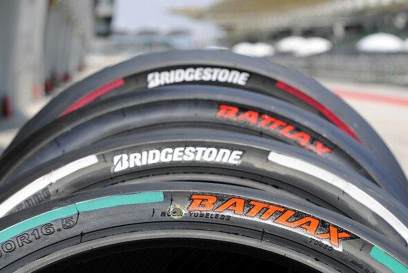 So sehen die neuen MotoGP-Reifen 2014 aus