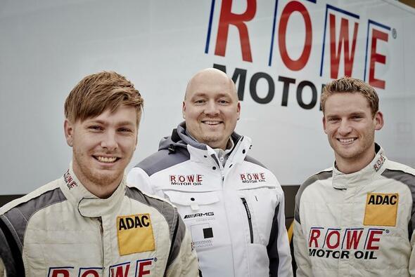Maro Engel und Jan Seyffarth starten für Rowe Racing im ADAC GT Masters