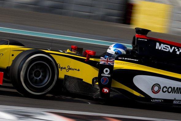 Jolyon Palmer sichert sich die erste Pole der GP2-Saison 2014