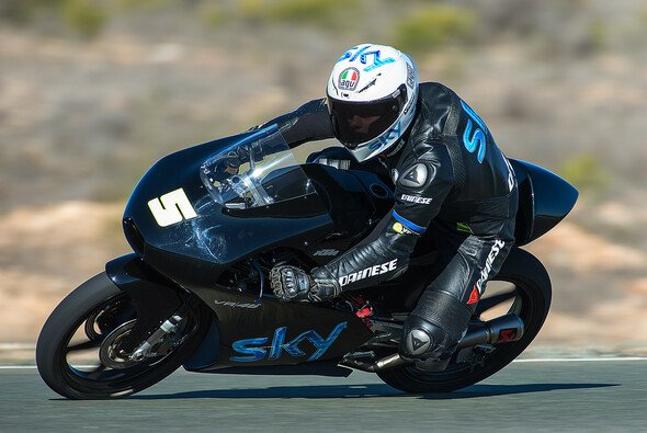 Romano Fenati fuhr die erste Bestzeit des Jahres