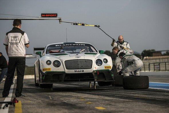 Die Vorbereitungen haben sich gelohnt: Bestzeit für den Bentley Continental von M-Sport