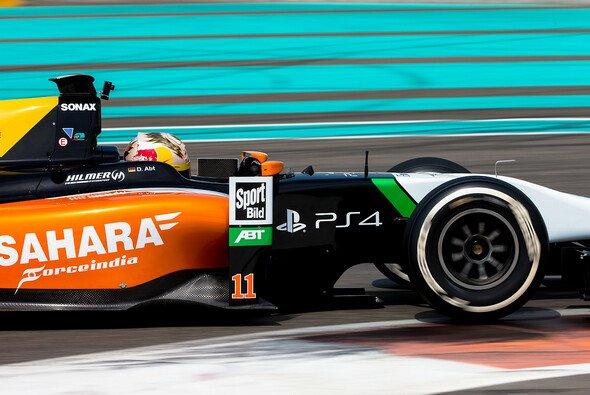 Auch die GP3-Boliden von Hilmer Motorsport werden in den Farben von Force India antreten