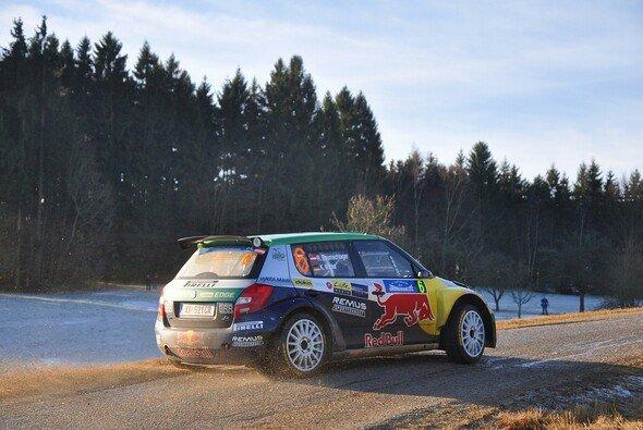 Als Vorjahressieger geht Raimund Baumschlager zuversichtlich in die Rallye