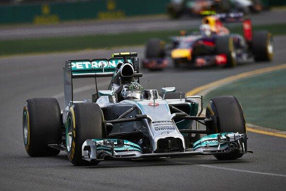 Nico Rosberg fuhr seine schnellste Rennrunde schon vor der Rennmitte
