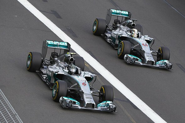Mercedes ohne Teamorder in Malaysia