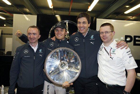 Nico Rosberg ist der strahlende Sieger des Saisonauftakts in Melbourne