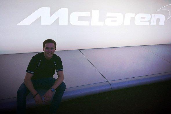 Marvin Dienst freut sich auf die Herausforderung in der McLaren Performance Academy