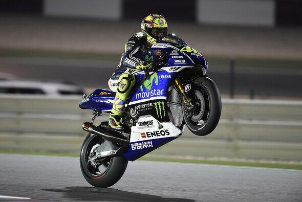 Valentino Rossi beeindruckte Yamaha mit einer starken Saisonvorbereitung