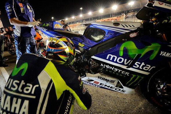 Rossi und Lorenzo suchen noch ihr Glück in Katar
