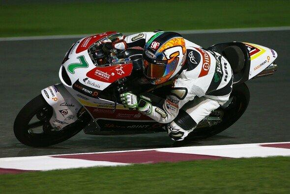 Efren Vazquez ist bisher der Mann des Wochenendes in der Moto3