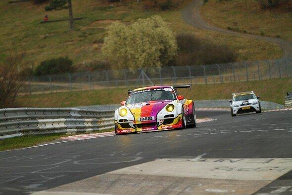 David Schiwietz erreichte mit dem Kremer-Porsche das Podest