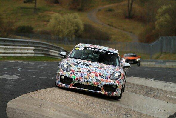 Claudius Karch startet im Porsche Cayman