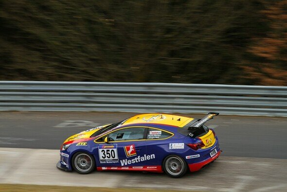Der Sieg im Opel Astra OPC Cup war hart umkämpft