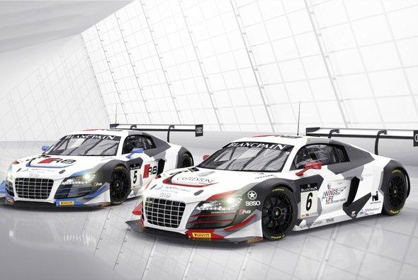 Mit frischer Lackierung in die neue Saison: Audi R8 LMS von Phoenix Racing für die BSS