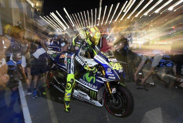 Valentino Rossi strahlte nach seinem zweiten Platz