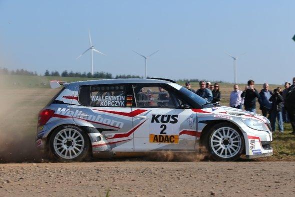 Mark Wallenwein und Stefan Kopczyk zählen zu den Favoriten - Foto: Wallenwein Rallye Sport