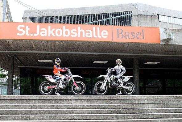 Zum achten Mal sind die Freestyle Motocross Sportler in der St. Jakobshalle zu Gast